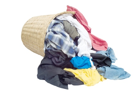 The clothes are not washed Stock Photo - 13281435