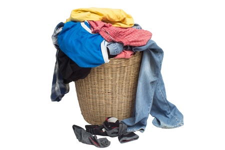 The clothes are not washed