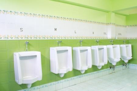 urinals and size s , m ,l , xl, xxl photo