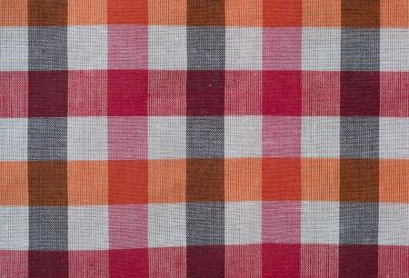 loincloth: Close up texture of thai style loincloth  Stock Photo