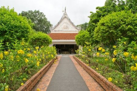 loei:  Wat Phra That Si Song Rak in Loei Thailand  Stock Photo