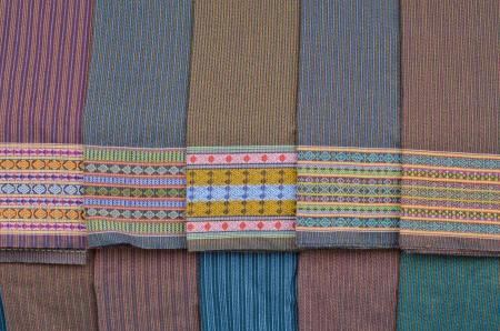 Thai folk textile   photo