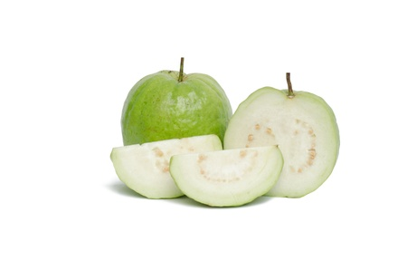 Guava isolated on white background 版權商用圖片 - 16308625