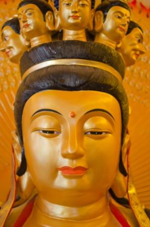 bodhisattva: Golden Bodhisattva  Guan Yin