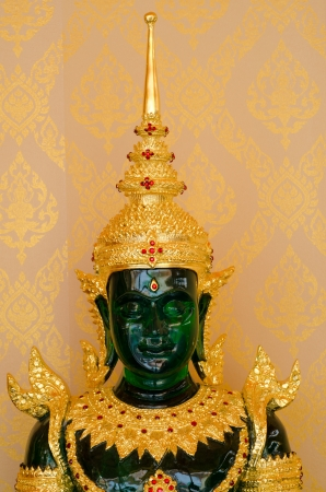 Emerald buddha statue  photo