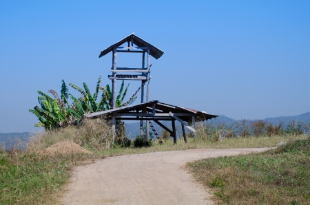 Photo of a rural farm house in Thailand photo