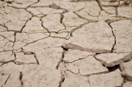 sump: Cracked dal calore vita meno del suolo a lungo