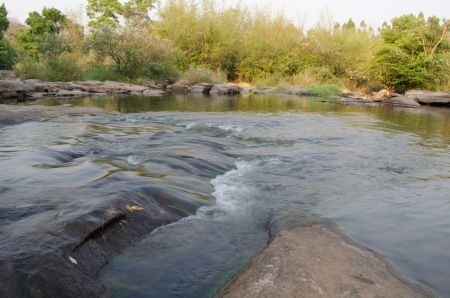 loei: streamlet in Loei,Thailand Stock Photo