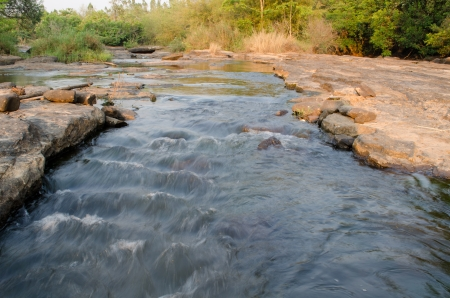 streamlet: streamlet in Loei,Thailand Stock Photo