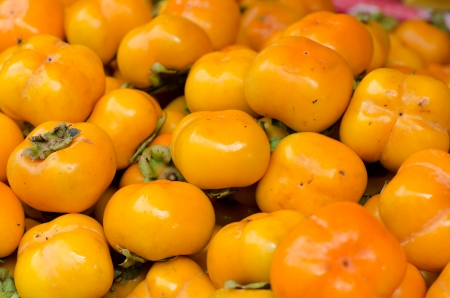 persimmon: Caqui fondo fruta Foto de archivo