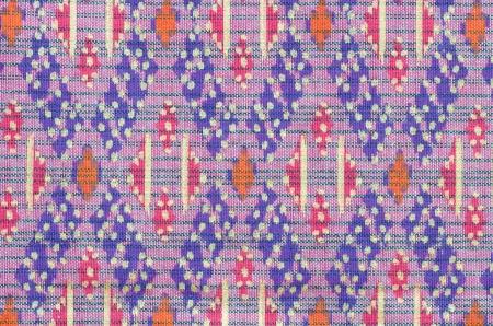 loincloth: Thai Loincloth style texture Stock Photo