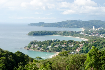 three bay of Phuket viewpoint, Thailand photo