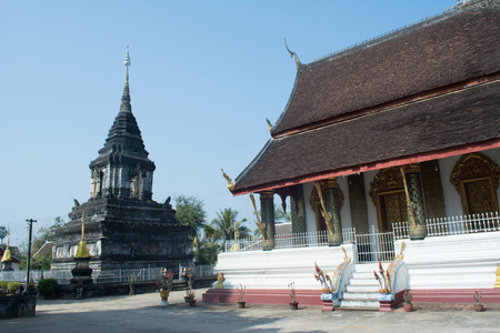 Wat That in Luang Prabang , Laos photo