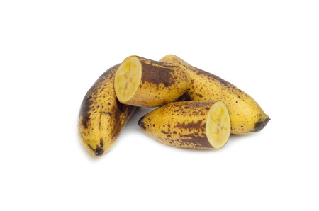 abnormal cells: ripe banana (The fully ripe banana produces a substance called Tumor Necrosis Factor (TNF) which has the ability to combat abnormal cells) Stock Photo
