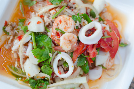 vermicelli: Spicy vermicelli salad