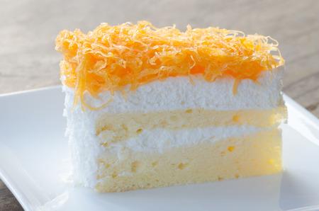 yolks: Thai dessert, Foythong Cake or Gold Egg Yolks Thread