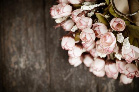 artificial flower: colorful decoration artificial flower (vintage)