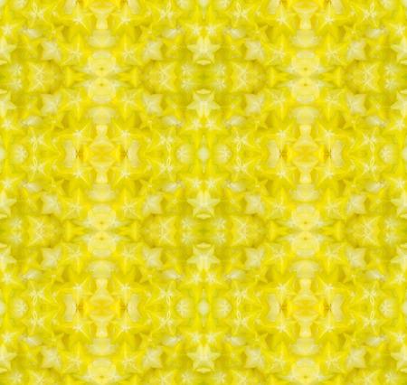 star fruit: star fruit seamless pattern backround