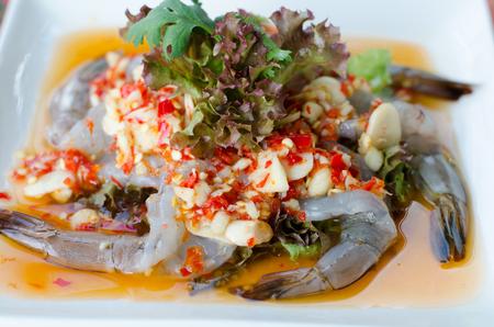 fish sauce: shrimp in fish sauce
