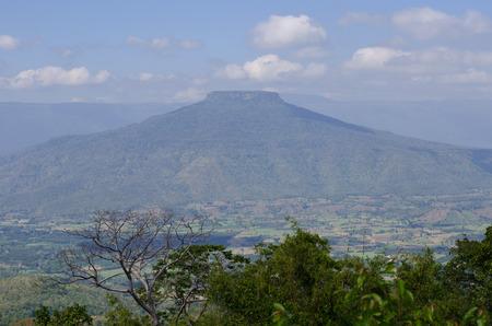 loei: Mt. Fuji in Loei,Thailand shaped like Mt. Fuji, Japan.