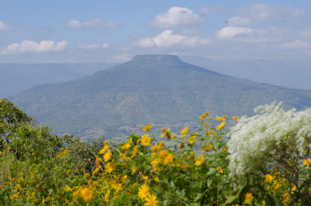 loei: Mt. Fuji in Loei,Thailand shaped like Mt. Fuji, Japan.