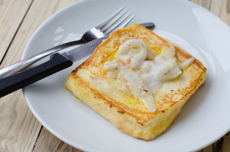 french toast coconut for breakfast