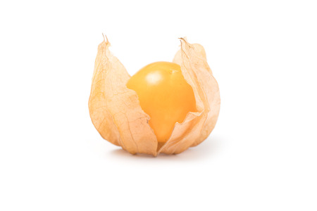 Cape Gooseberry, physalis fruit (Physalis peruviana) isolated on a white background