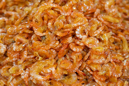 Sweet shrimps is Thai dish which cooks with fish sauce and sugar.It has lots of calcium