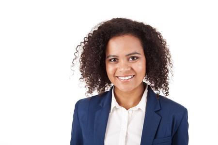 Beautiful african woman posing Stock Photo - 17242543