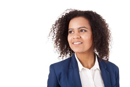 Beautiful african woman posing Stock Photo - 17242547