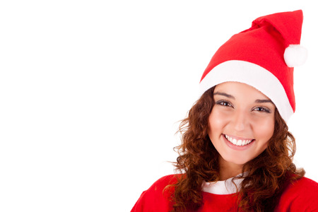 Beautiful woman posing for Christmas Stock Photo - 23565666