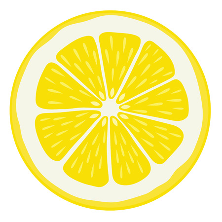 Lemon Slice - Isolated