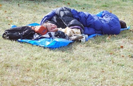 Occupy Kansas City Participant