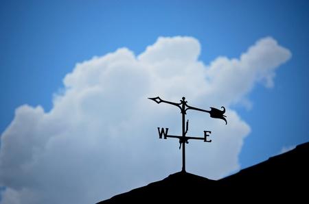 vane: Weather Vane Stock Photo