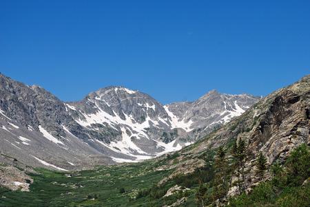 11,000 Feet in Elevation Stok Fotoğraf