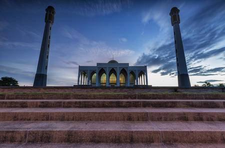 statutes: Mosque architecture  Stock Photo