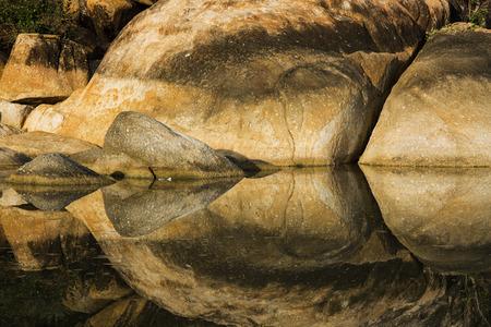 reflection: rock reflection