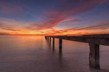 colorful sunrise: colorful sunrise Stock Photo