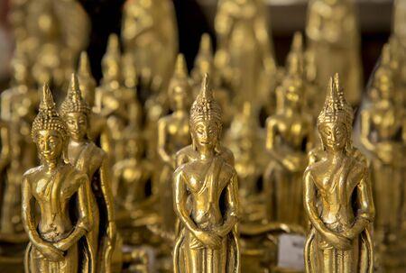 the little golden buddha Reklamní fotografie