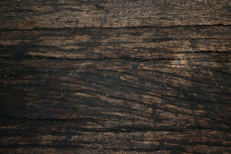 close up image of an old weather-beaten wood.   photo