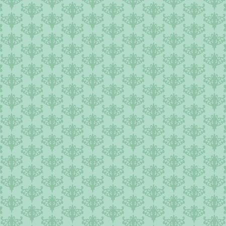 vector illustratie van het herhalen retro mint-groene achtergrond Vector Illustratie