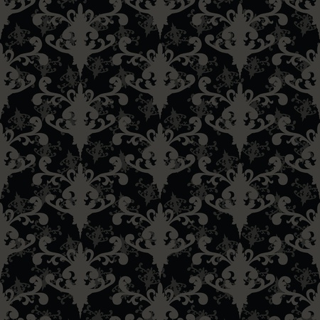 vector illustration of repeating black-gray background  Stock Vector - 12480905