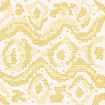closeup illustration of a patterned albino snake skin  Vector
