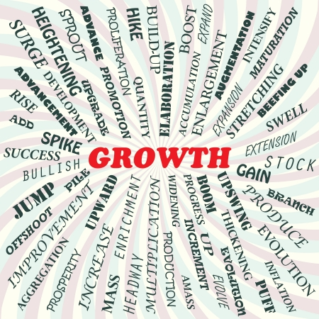 illustration of growth concept  Stock Vector - 19130829