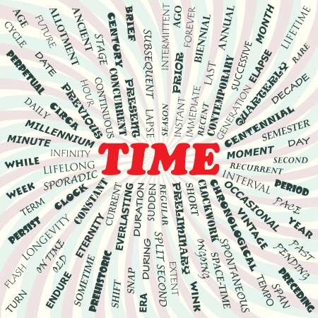 illustration of time concept Stock Vector - 19130836