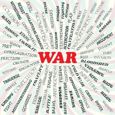 bloodshed: Ilustraci�n del concepto de la guerra
