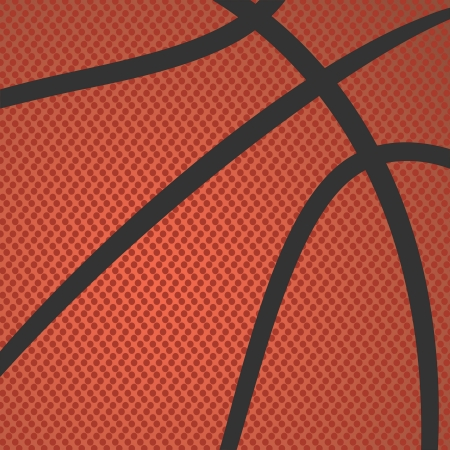rendition: realistic rendition, illustration of basketball skin texture    Illustration
