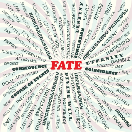 illustration of fate concept    Stock Vector - 19318973