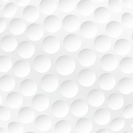 pelota de golf: interpretaci�n realista de golf textura blanco bola Vectores