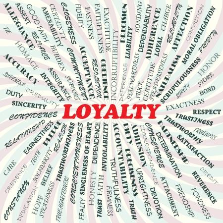 surety: illustrazione del concetto di lealt�